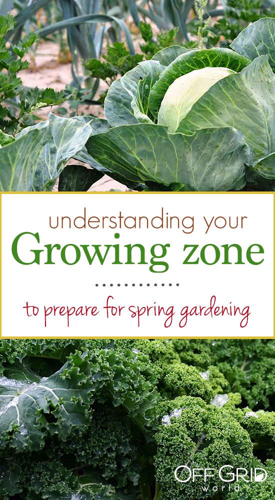 Growing zones