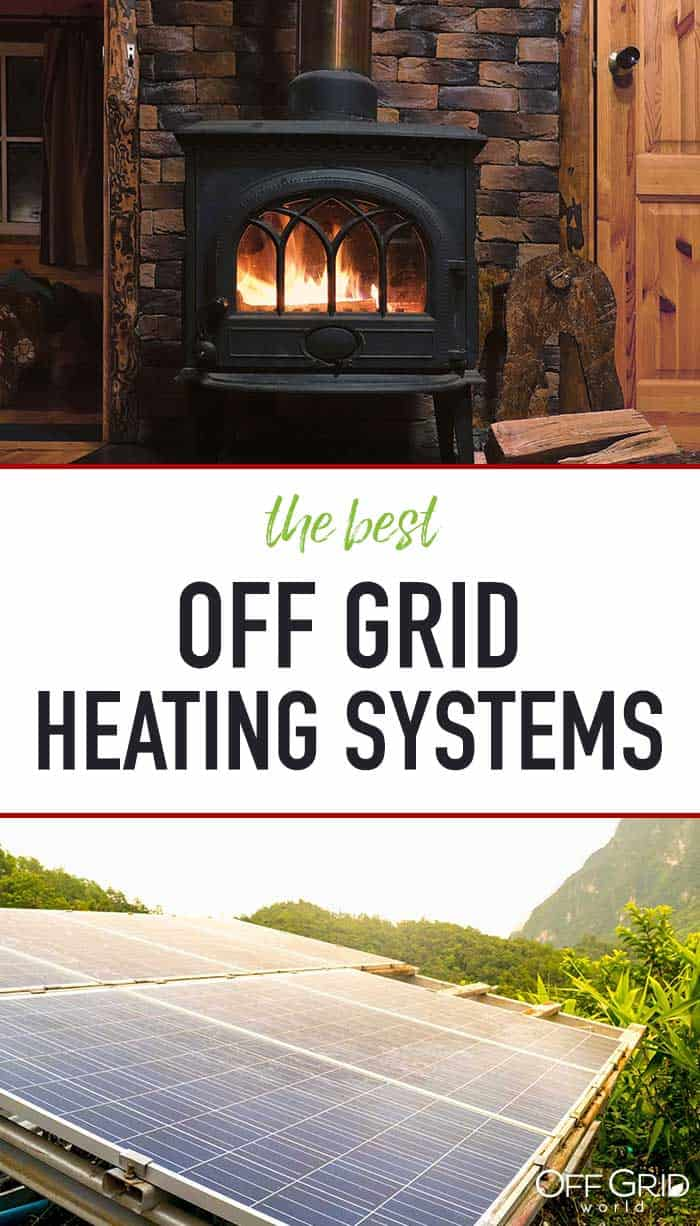 Off grid heating systems