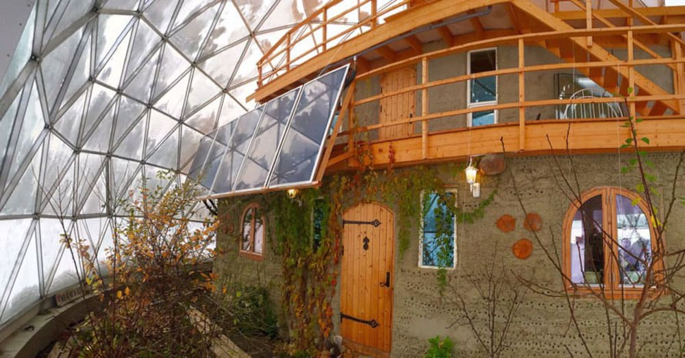 Cob house in Norway