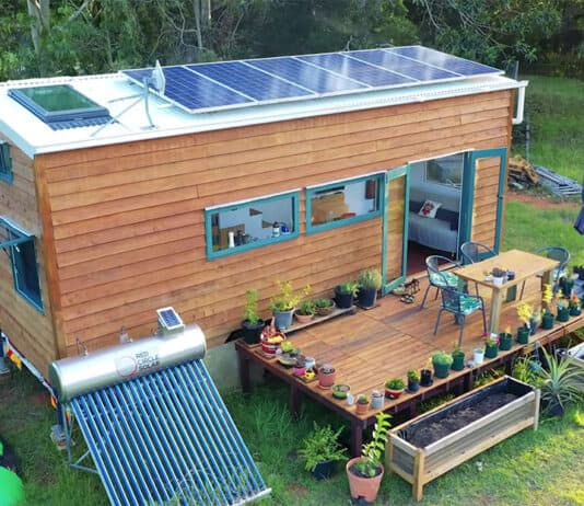 Off grid tiny house perfection