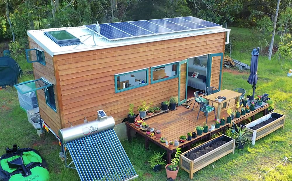 This Tiny House Is Off Grid Perfection