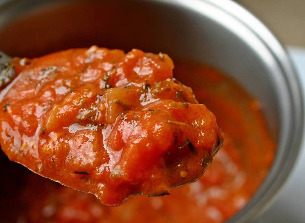 Cooking with frozen tomatoes