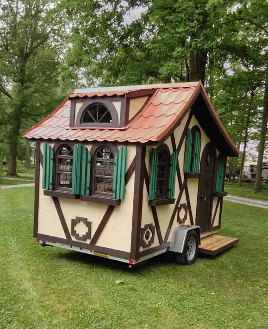 Tudor micro cottage