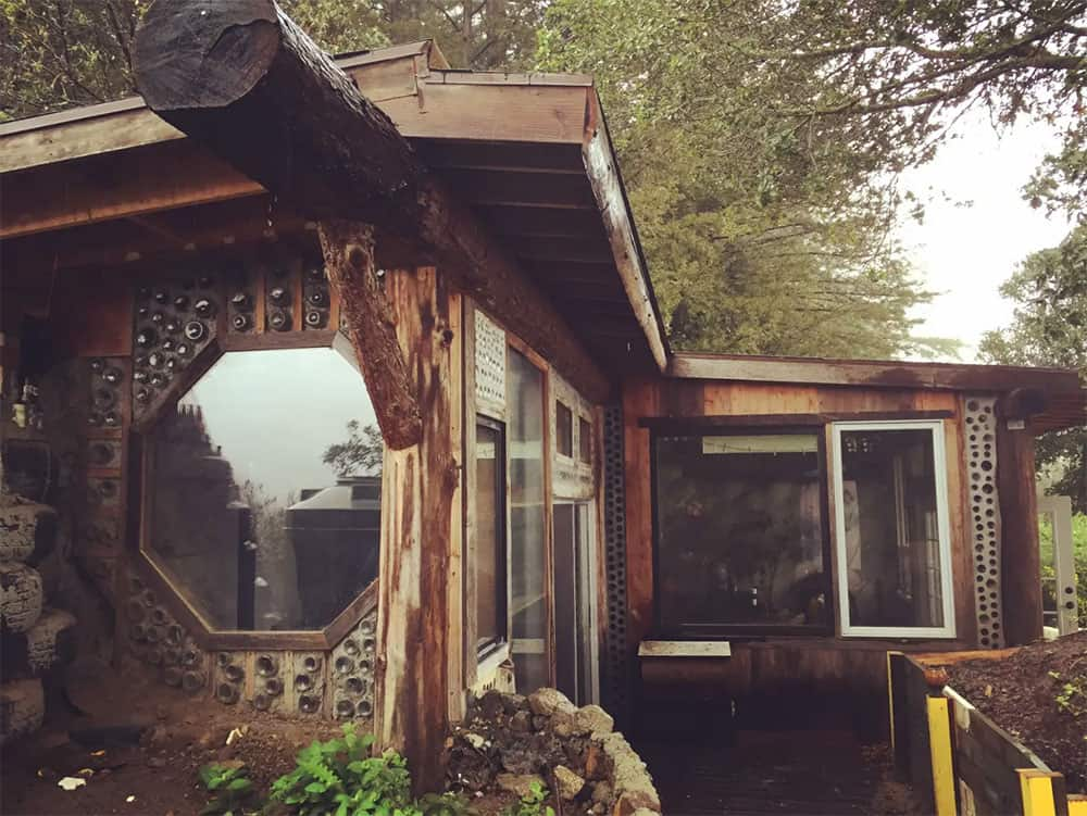 A Beautiful Earthship Home Built for Less Than $10k