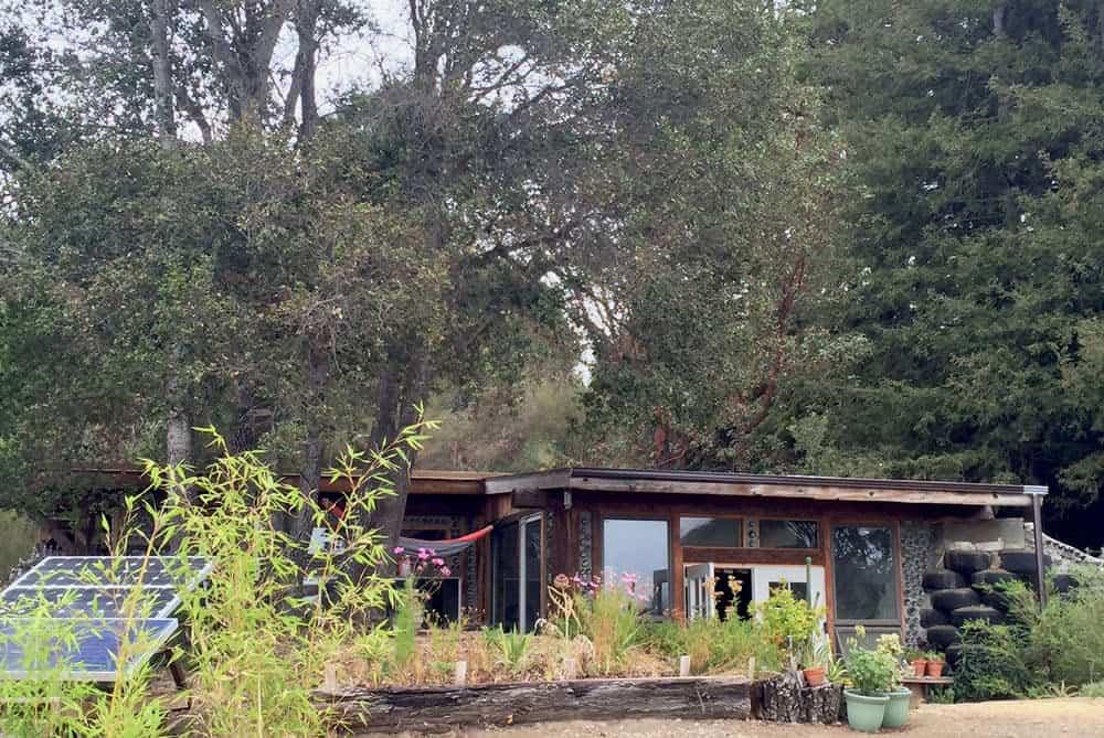 Earthship in California