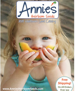 Annie's Heirloom Seed catalog