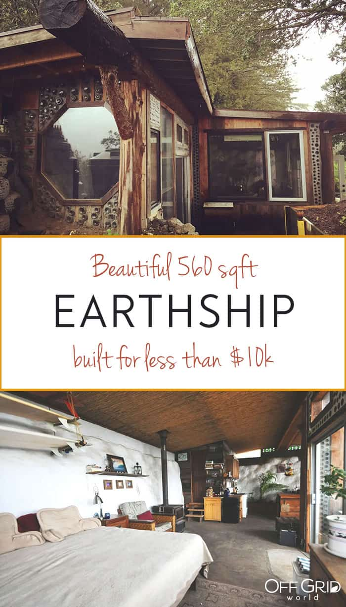 Nomadic Roots earthship