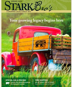 Stark Bro's seed catalog