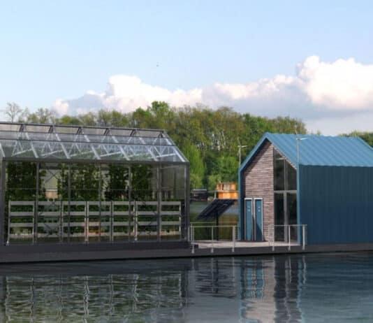 Eco Barge floating garden