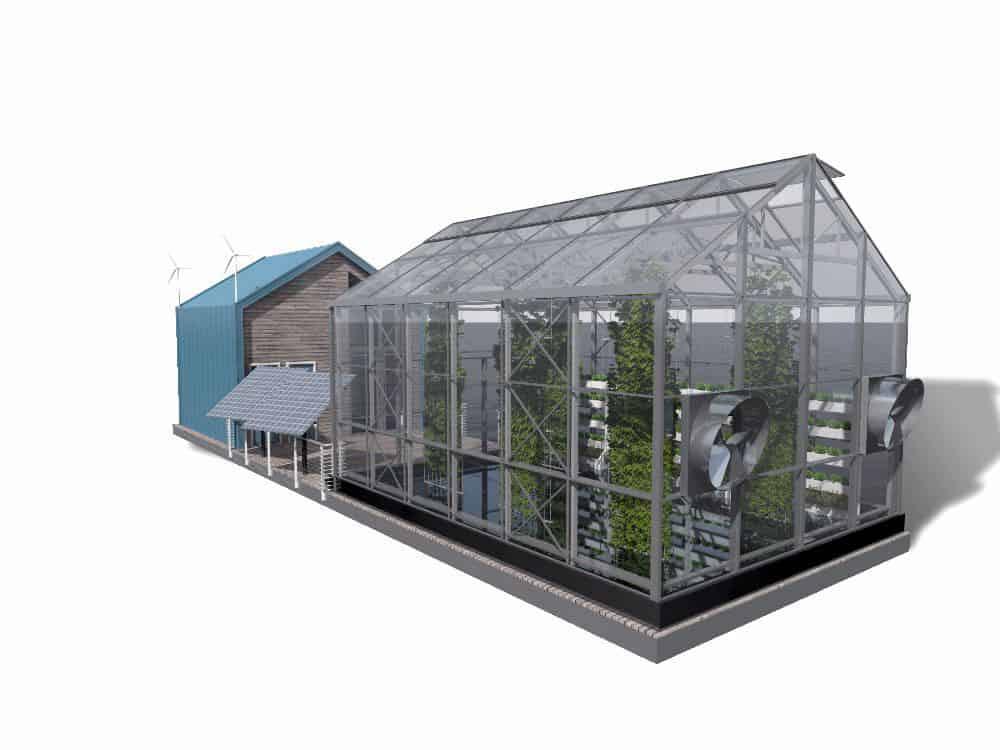 Urban floating greenhouse