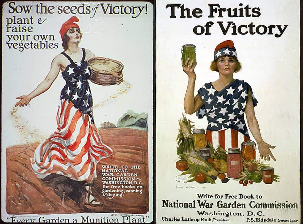Seeds of victory posters