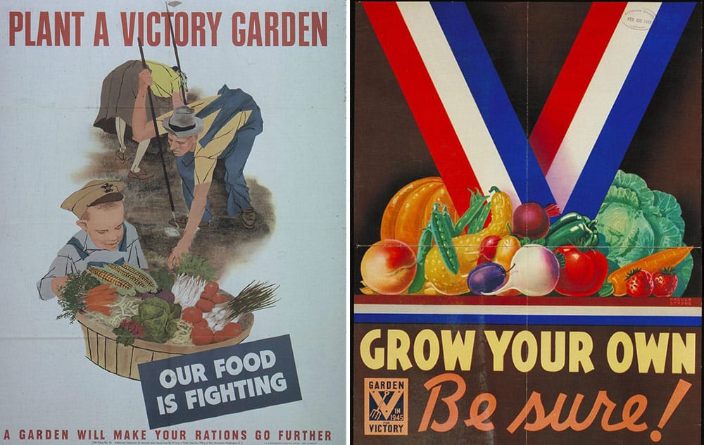 World War II victory garden propaganda