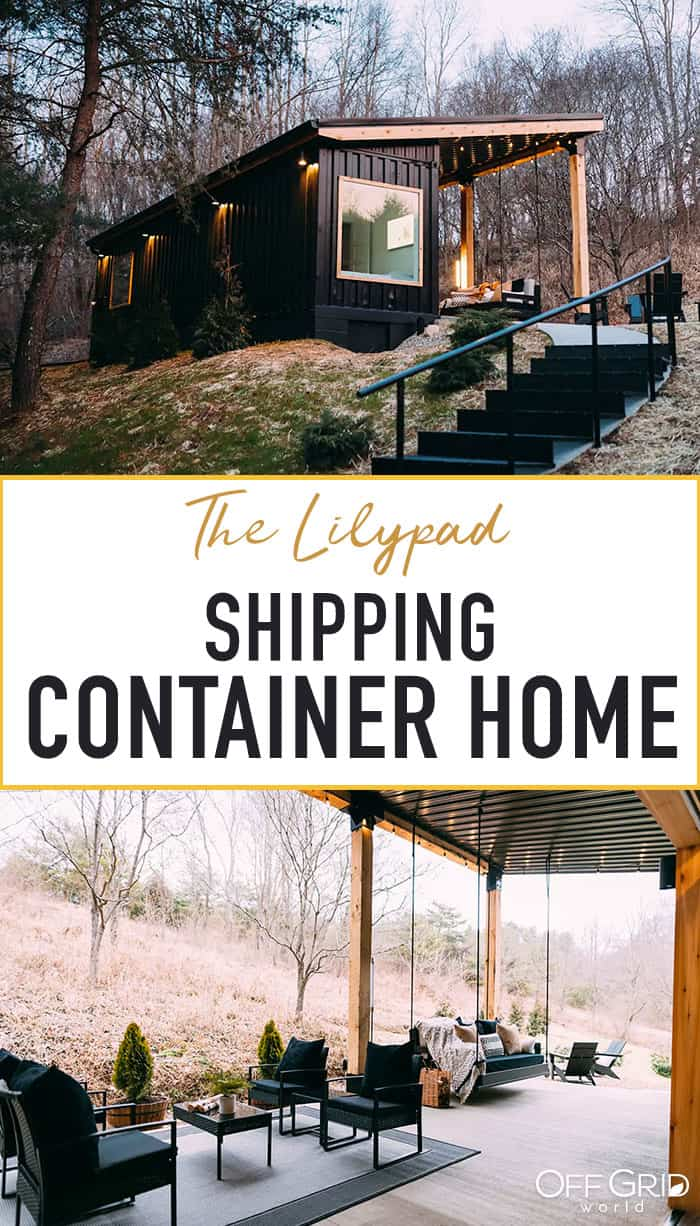 Lily Pad container home