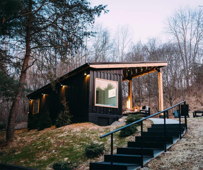 Lilypad container home