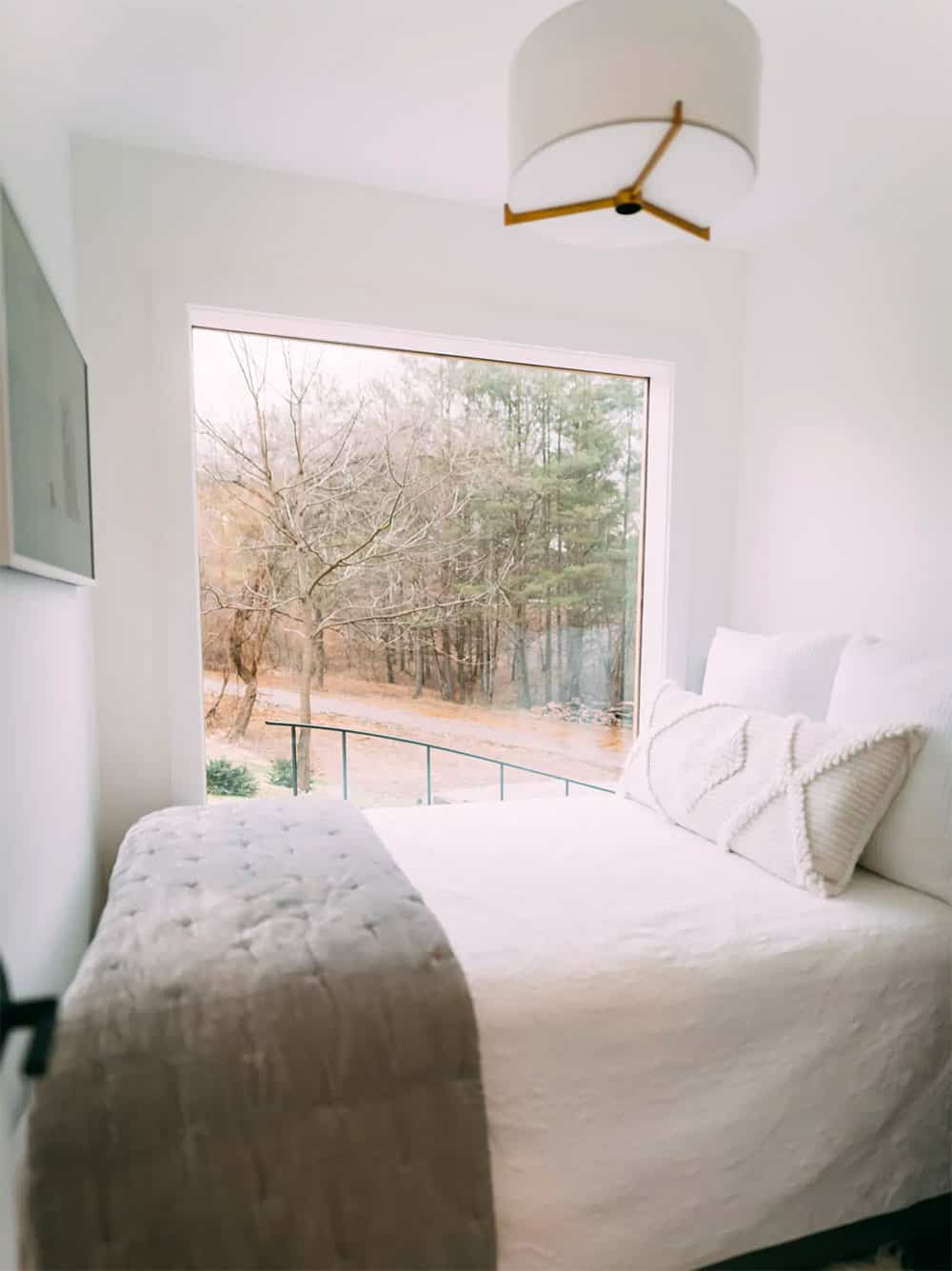 Container home bedroom