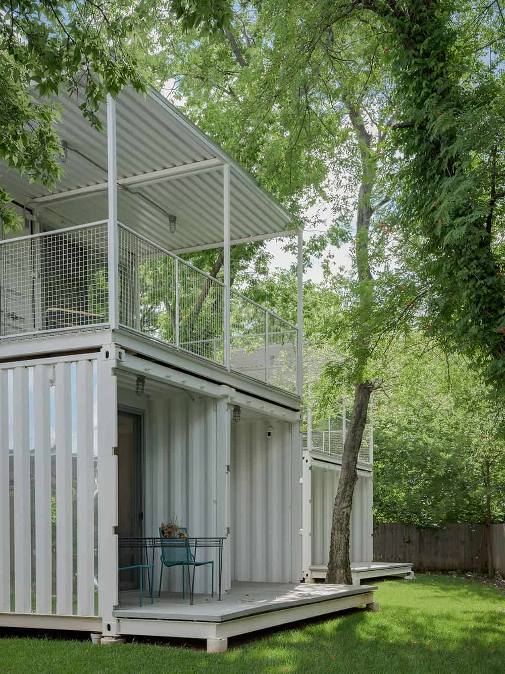 Container home units