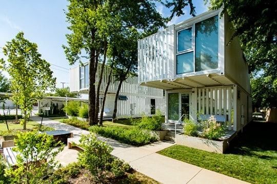 Squirrel Park container homes